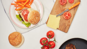 kids burger recipe
